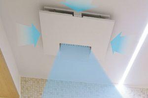 服を乾かすだけでは無く入浴時に室内が暖かい!「カビシャット暖房換気乾燥機」