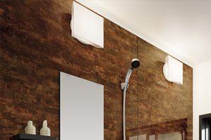 リフォムスバスルームは照明の強さを好みに合わせて調節できるんです。
