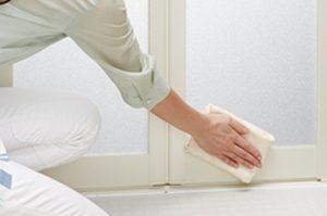 アライズは浴室側のドアにパッキンが無いのでカビが生え辛い!「キレイドア」